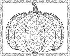 With these Halloween Doodles, you can celebrate the happy Halloween's Day. Sea… With these Halloween Doodles, you can celebrate the happy Halloween's Day. Search through Halloween doodles and find creepy characters, witches and mystical monsters. Fall Leaves Coloring Pages, Pumpkin Coloring Pages, Monster Coloring Pages, Colouring Pages, Coloring Pages For Kids, Coloring Books, Coloring Sheets, Pumpkin Drawing, Pumpkin Art
