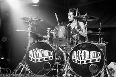 Lux Santa Ana - Oscar Torres Photography_ Tom Tom Magazine_ Female Drummers