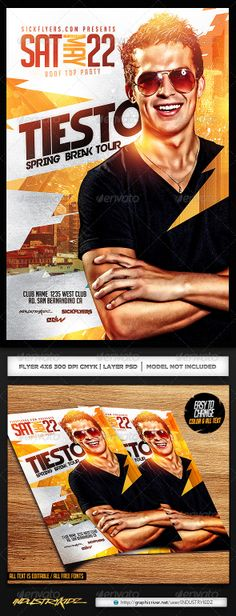 Twist Flyer Template | Party Events, Advertising And Flyer Template