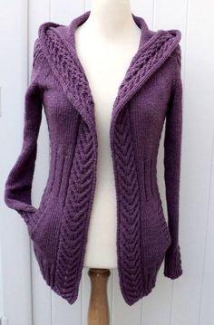 Gilet Virginie femme - explications tricot chez Makerist