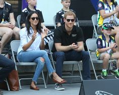 25 September 2017 - Prince Harry and Meghan Markle attend  Invictus Games together.