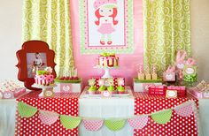STRAWBERRY Shortcake Party - Strawberry Party - PRINTABLE Personalized Party Package W/ Photo Invitation on Etsy, $35.00