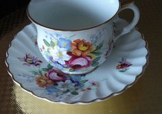 Fine China Cup & Saucer Old Foley Mixed by MaggiesCupboard2013