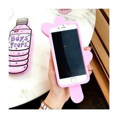 Sommer Pink Getränkeflaschen und Eis Handyhülle für Iphone6/6s/6plus