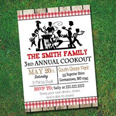 Picnic Invitation  Diy Printable Jpeg  Company Picnic Invitation