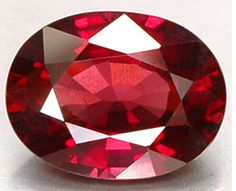 Ruby   The glowing ruby shall adorn, ~ Those who in July are born; ~ Then they'll be exempt and free ~ From love's doubts and anxiety. ~ Gregorian Birthstone Poem