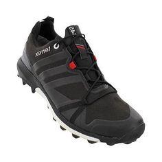 Men's adidas Terrex Agravic Gore-TEX Trail Running Shoe /Power Red/White