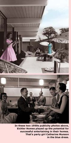 Have a party in your Midcentury Home  #midCentury,#eichler,#palmsprings www.PaulKaplanGroup.com