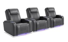 Movie Theater Chairs, Theater Seating, Theater Recliners, Power Recliners, Hidden Storage, Discount Furniture, Home Theater, Bobs, 3 Piece