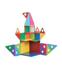 Play Develops Critical Skills and Builds Mental Math Muscle magna tiles Inspired by Children with Math in Mind where maths meets science and creativity learn about shapes through play 33 piece geomtric shapes solid colours set