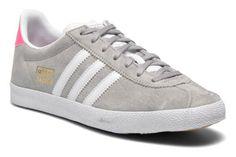 Adidas Originals Gazelle og w (Gris) - Baskets chez Sarenza (230986)