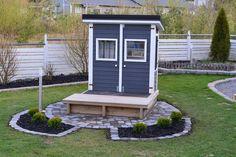 Syntymäpäivän viettoa ja puutarhatöitä Shed, Outdoor Structures, Barns, Sheds
