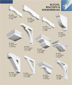 First Class Building Products Exterior Crown Moulding Styles