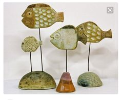 Mrs. Knight's Smartest Artists: 5th grade clay fish sculptures
