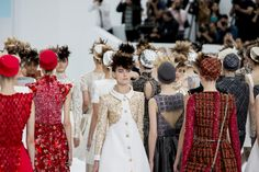 Chanel. The Best Candid Moments from the Fall 2014 Couture Shows - Vogue