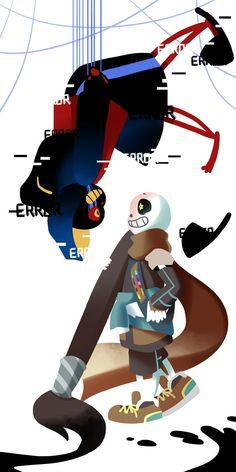 Ink and Error by TheCrayonQueen.deviantart.com on @DeviantArt