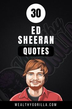 Ed sheeran quotes always inspire us to do good. Happiness quotes and mindset quotes is what you'll expect but you might even feel Check out Ed Sheeran's Enlightening quotes and inspiring quotes in this article packed with helpful and insightfu Inspirational Quotes About Success, Inspirational Quotes Pictures, Motivational Quotes For Life, Happy Quotes, Success Quotes, Happiness Quotes, Motivation Quotes, Insightful Quotes, Musician Quotes