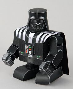 Darth Vader downloadable paper craft