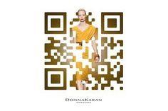 QR Code  Donna Karan QRcode design   QRdressCode   Scoop.it