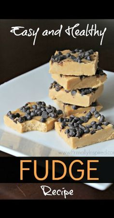 Easy, Healthy Fudge Recipe from Primally Inspired www.PrimallyInspired.com
