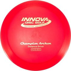 Innova Champion Archon Golf Disc by Innova. $12.90. The Archon is a Distance Driver that blends the graceful long turn of the Katana with the smooth fade of a Wraith. It has been described as a longer Valkyrie. This will be a great disc for players looking to master their game and rule the course.