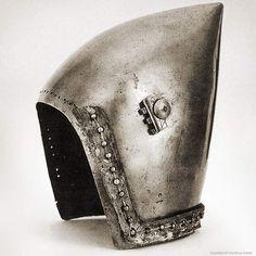 Antique Metal Helmet From the Churburg Castle, circa 1385