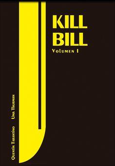 Kill Bill: Vol. 1 (2003) ~ Minimal Movie Poster by Carmen Hidalgo ~ Swiss Style Design #amusementphile