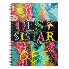 Shop OES Sistar Notebook created by OcularPassion. Personalize it with photos & text or purchase as is! Daughter Of God, Daughters, Eastern Star, Sistar, Lined Page, Custom Notebooks, Artwork Design, Your Image, Personal Style