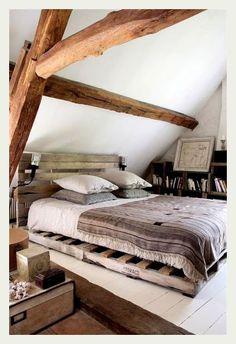 ♂ Organic living nature wood home deco bedroom interior design