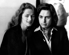 Charlotte Rampling and Jean Michel Jarre