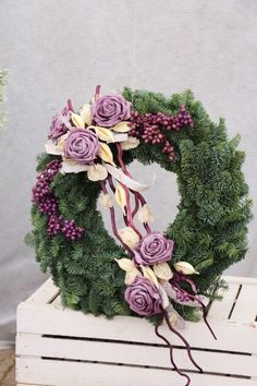 Flowers Arrangements Purple Inspiration 17 Ideas 2019 Flowers Arrangements Purple Inspiration 17 Ideas The post Flowers Arrangements Purple Inspiration 17 Ideas 2019 appeared first on Flowers Decor. Funeral Flower Arrangements, Christmas Arrangements, Church Flowers, Funeral Flowers, Deco Floral, Arte Floral, Floral Design, Flower Decorations, Christmas Decorations