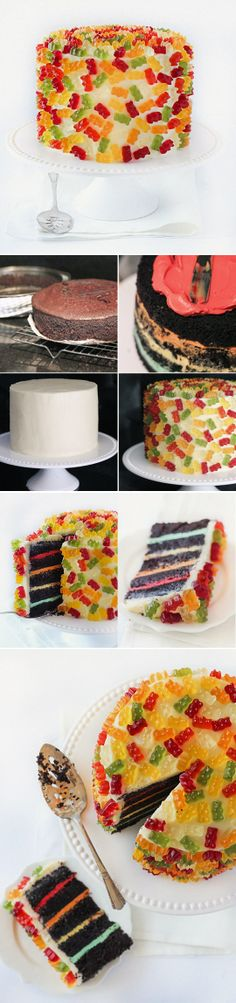I know someone who might cry over this cake.