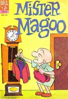 mr magoo comic books - Google Search