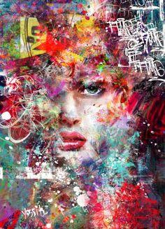 "Saatchi Art Artist yossi kotler; Painting, ""witnessing life"" #art"