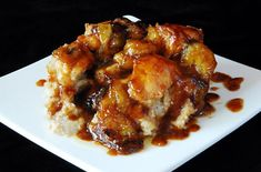 I must make this asap!  Dynamite Banana Foster Bread Pudding - foodista.com