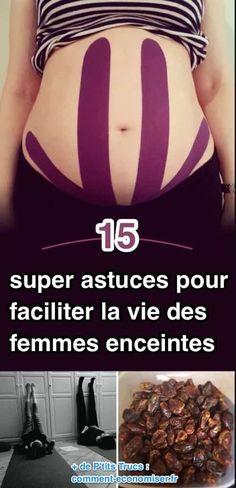 15astuces pour faciliter la vie des femmes enceintes