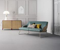 Blazer Sofa, design Mauro Lipparini Frame Sideboard, design Alain Gilles www.bonaldo.it