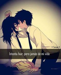 Resultado de imagen de anime love con frases en español