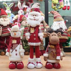 Snowily Christmas gift supplies counter decoration