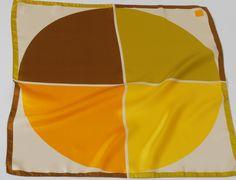 Sun Yellow Carré de soie