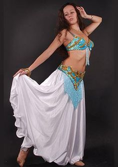 Костюм для девочки для восточных танцев своими руками