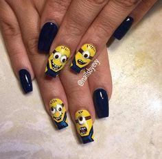 15+Minion+Nails+That+Are+Anything+But+Despicable+-+Style+