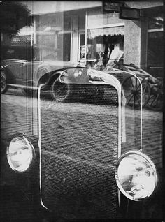 Jaromir Funke, Reflexy, 1931- photos using  layered outlines