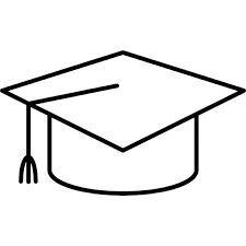 Resultado De Imagen Para Silueta De Birretes De Graduaciones