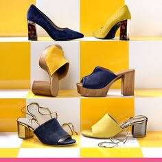 Heeled Mules, Slip On, Heels, Fashion, Heel, Moda, Fashion Styles, High Heel, Fashion Illustrations