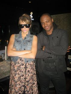 Keltie and Taio Cruz! See more here: http://insdr.co/ILG5Zi