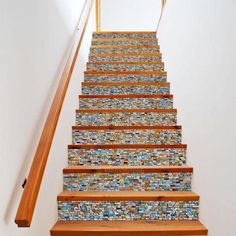 6pcs-3D-Stair-Stickers-Colorful-Stone-Pattern-Decoration-PVC-Home-Decal-Decor