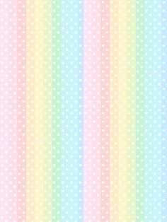 Rainbow Wallpaper, Iphone Background Wallpaper, Kawaii Wallpaper, Cellphone Wallpaper, Colorful Wallpaper, Printable Scrapbook Paper, Printable Paper, Pastel Background, Cute Backgrounds