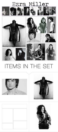 """""""Ezra Miller"""" by neverland-ballerina ❤ liked on Polyvore featuring art"""