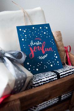 iloista joulua joulukortti christmas card